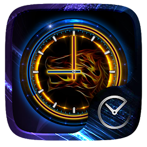 Leo GO Clock Theme icon