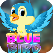 Best Escape Game 414 - Escape From Blue Bird Game icon
