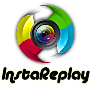 InstaReplay repost instagram icon