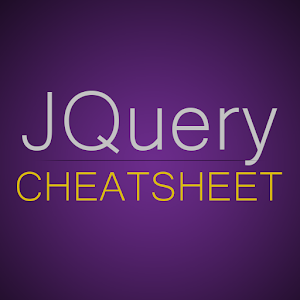 jQuery API CheatSheet icon