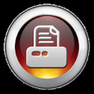Receipt scanner icon
