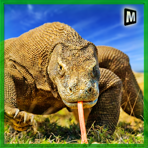 Wild Komodo Dragon War icon