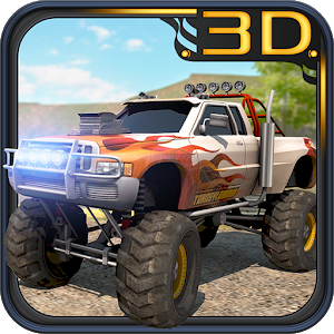 Monster Truck 3D Crazy Race icon
