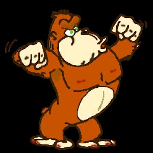 Retro Kong Jungle icon