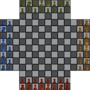 Free 4 Player Chess icon