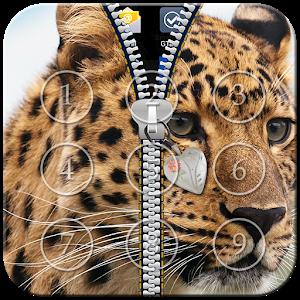 Cheetah Zipper Lock icon