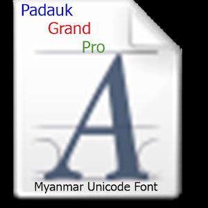 Padauk Grand Pro(iFont) 1.1 icon