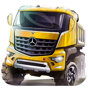 Truck Freight Transportation icon