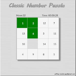 Classic Number Puzzle icon