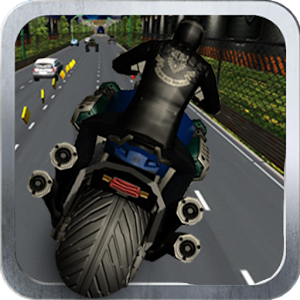 Highway Bike Race 3D icon
