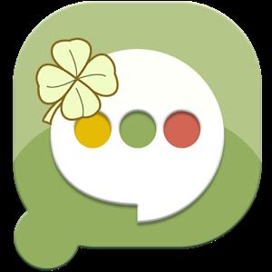 Easy SMS Lucky Clover theme icon