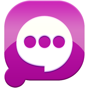 Easy SMS solid Purple theme icon