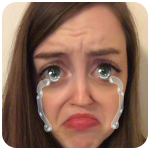 Selfie lenses camera icon