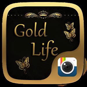 (FREE)Z CAMERA GOLD LIFE THEME icon