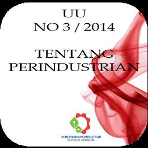 UU No 3 - 2014 Perindustrian icon