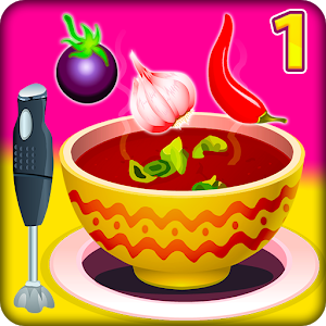 Cooking Soups 1 - Cooking Games icon