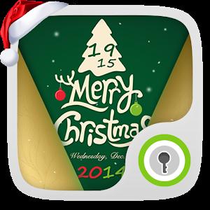 Snowfall Christmas live Locker icon