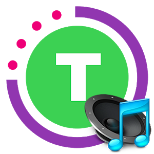 Tabata timer with music icon