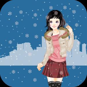 Dress up Games Winter Fashion icon