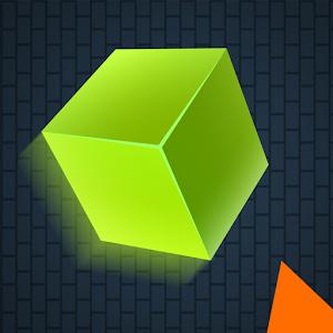 Alpha Bouncy Dash Cube icon