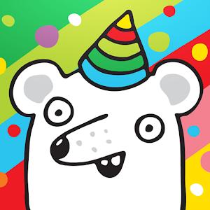 Damki Town – Animal Coloring Book App for Kids icon