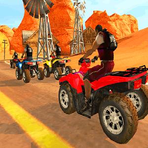 Quad Race Desert icon