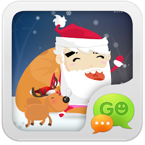 GO SMS Pro Santa Super Theme icon