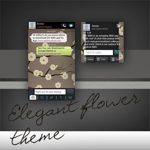GO SMS Pro Flower Theme Free icon