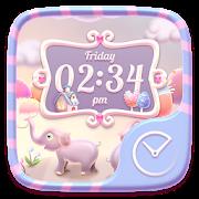 Elephant GO Clock Themes icon