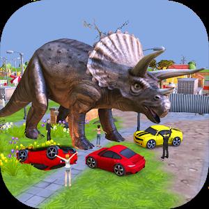 Triceratops 3D Dinosaur Sim icon