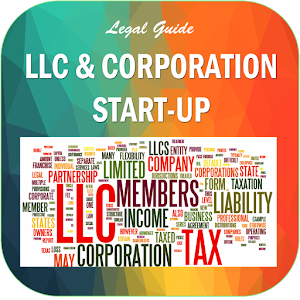 LLC and Corporation Start-Up icon