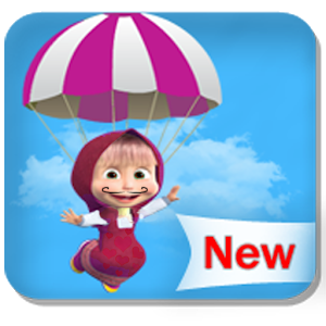 Masha Parachute icon