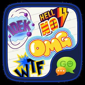 (FREE) GO SMS HOT WORD STICKER icon