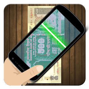 Fake Money Scanner Prank Rupee icon