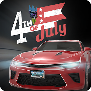4th of July Traffic icon