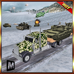 Army Battle field Transport 3D icon