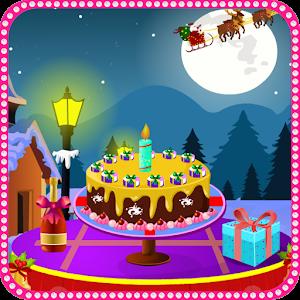 Christmas Cake Girls Games icon