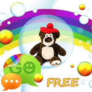 Cute Teddy Bear for GO SMS Pro icon