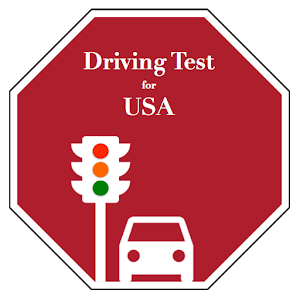 Road Signs & Practise Test USA icon
