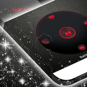 Locker Theme Red Tech icon