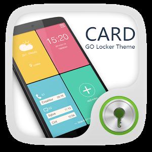 Cards GO Locker Theme icon
