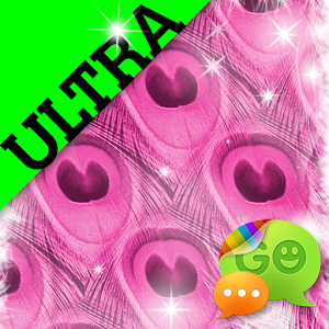 Ultra Cute Pink Peacock Theme icon