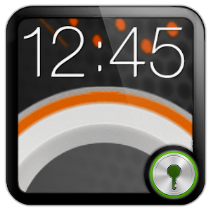 Sense Orange Go Locker theme icon