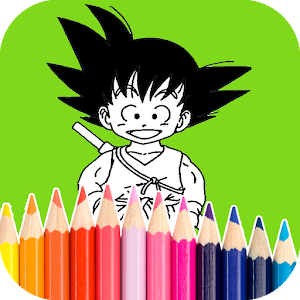 Kids Coloring Book DBZ Anime icon