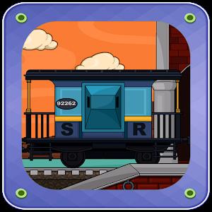 Room Escape: train station icon