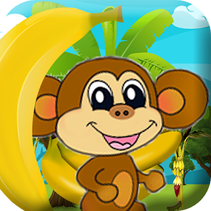 Monkey Jungle Banana icon