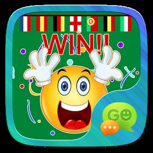 (FREE) GO SMS EURO STICKER icon