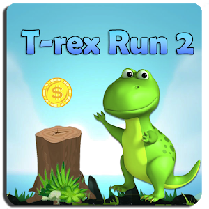 T-rex Run 2 icon