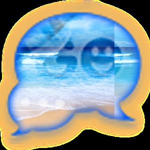 GO SMS - Beach Bum icon