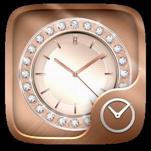 RoseGold GO Clock Theme icon